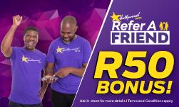 Hollywoodbets online R50 free bet no deposit bonus