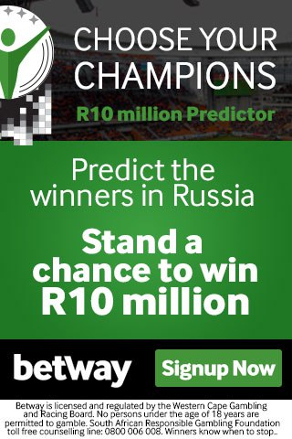 Betway Choose your Champions Promo